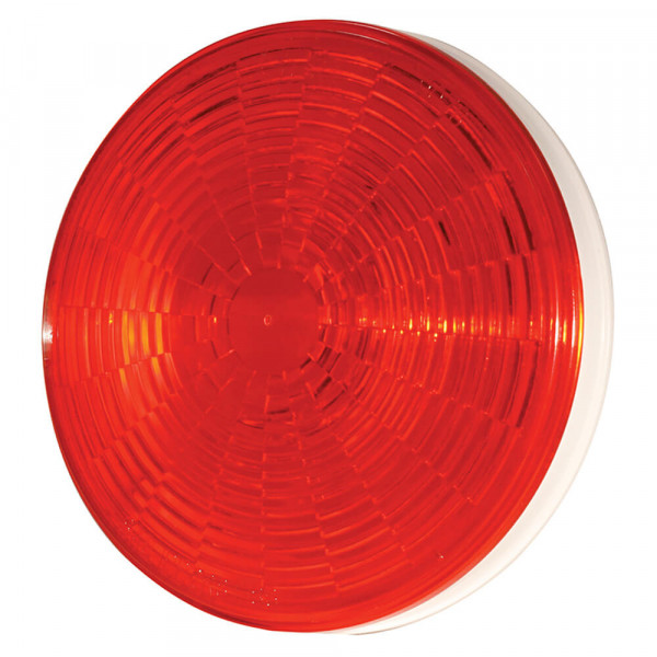 Red LED Stop Tail Turn Light With Grommet Mount.