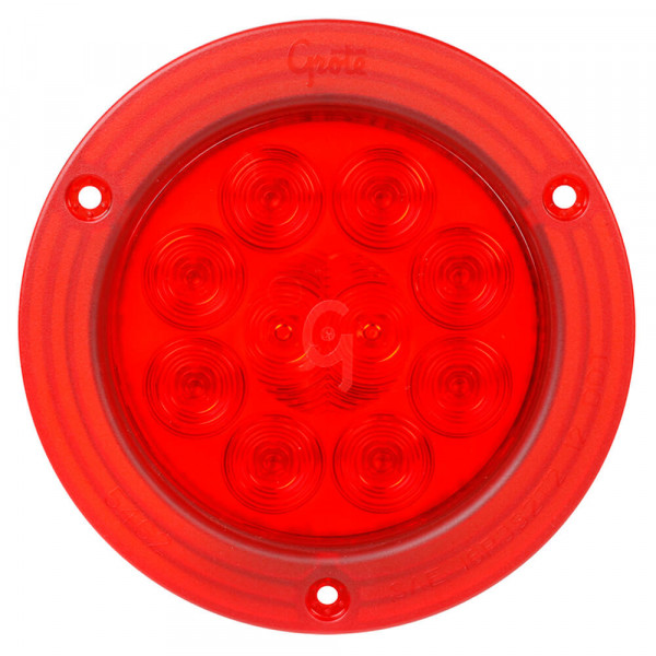 "4"" LED Stop Tail Turn Light with Integrated Flange"