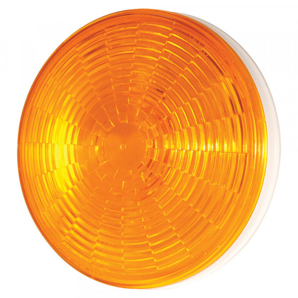 SuperNova Yellow LED 2-Pin Turn Light With Grommet Mount.