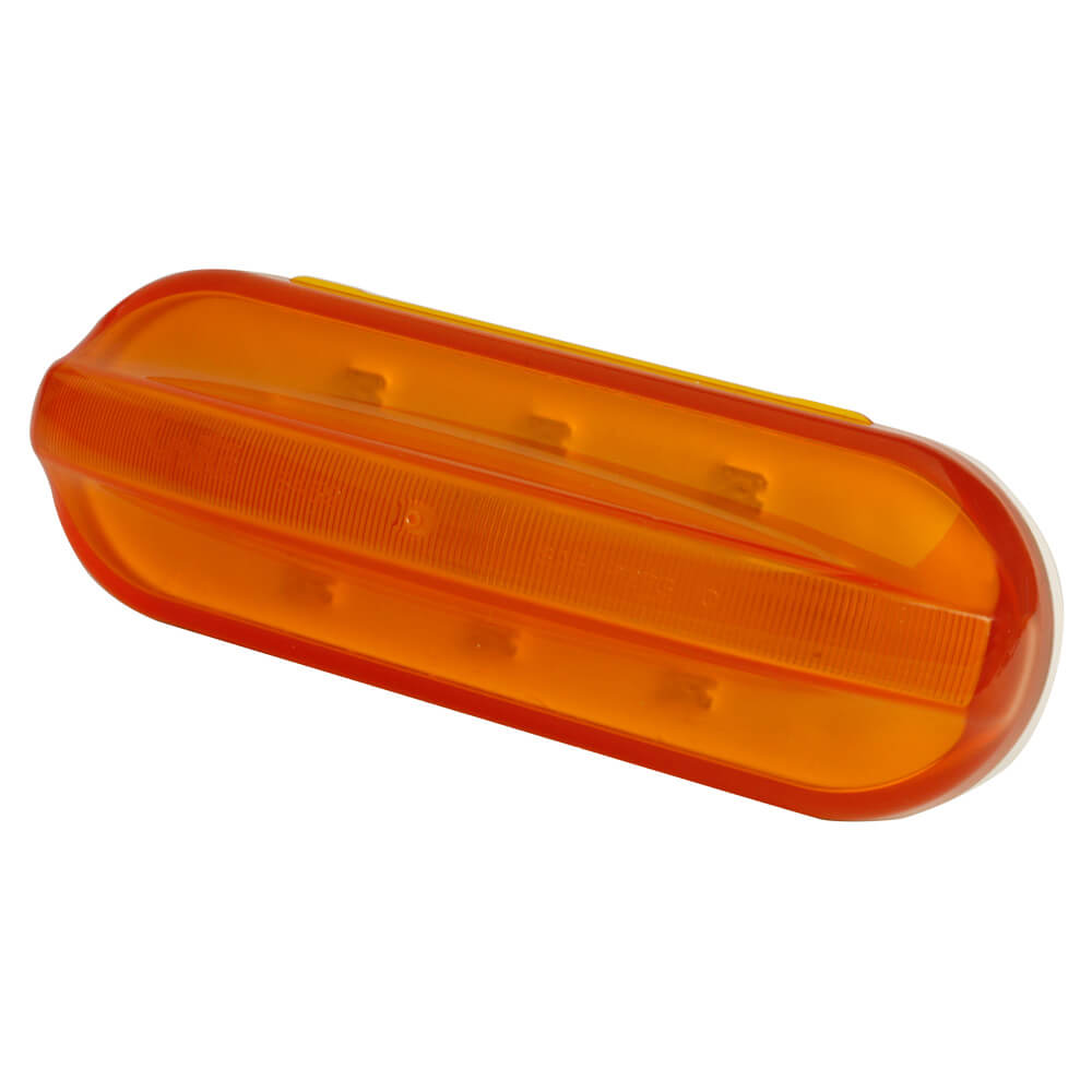 Mid-Position Flashing LED Marker Light, Yellow
