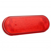 Oval LED Stop Turn Tail Light thumbnail