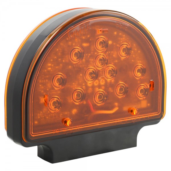 Amber LED Warning Light For Agricultural & Off-Highway Applications
