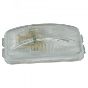 luz de uso general rectangular pequeña transparente