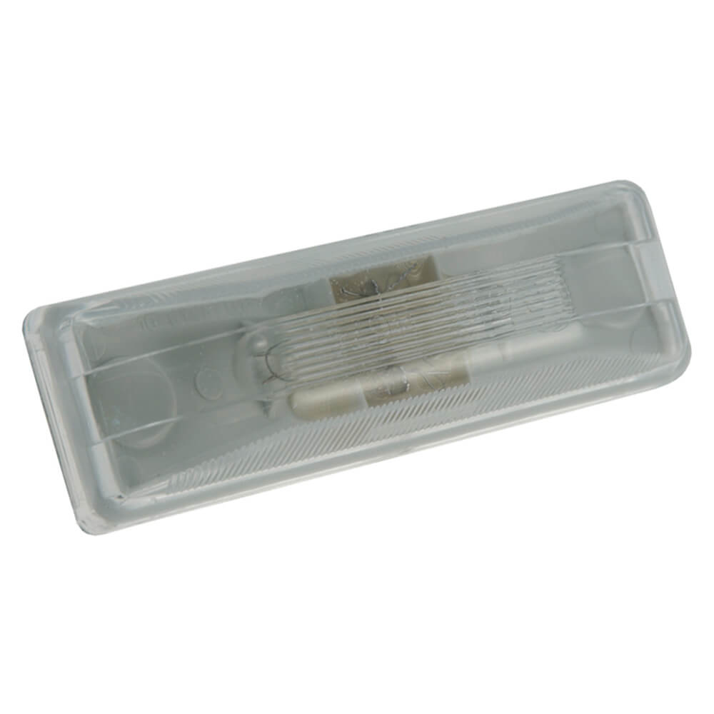 rectangular utility light incandescent clear