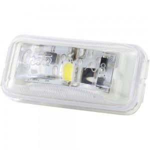 luz led de uso general rectangular pequeña transparente