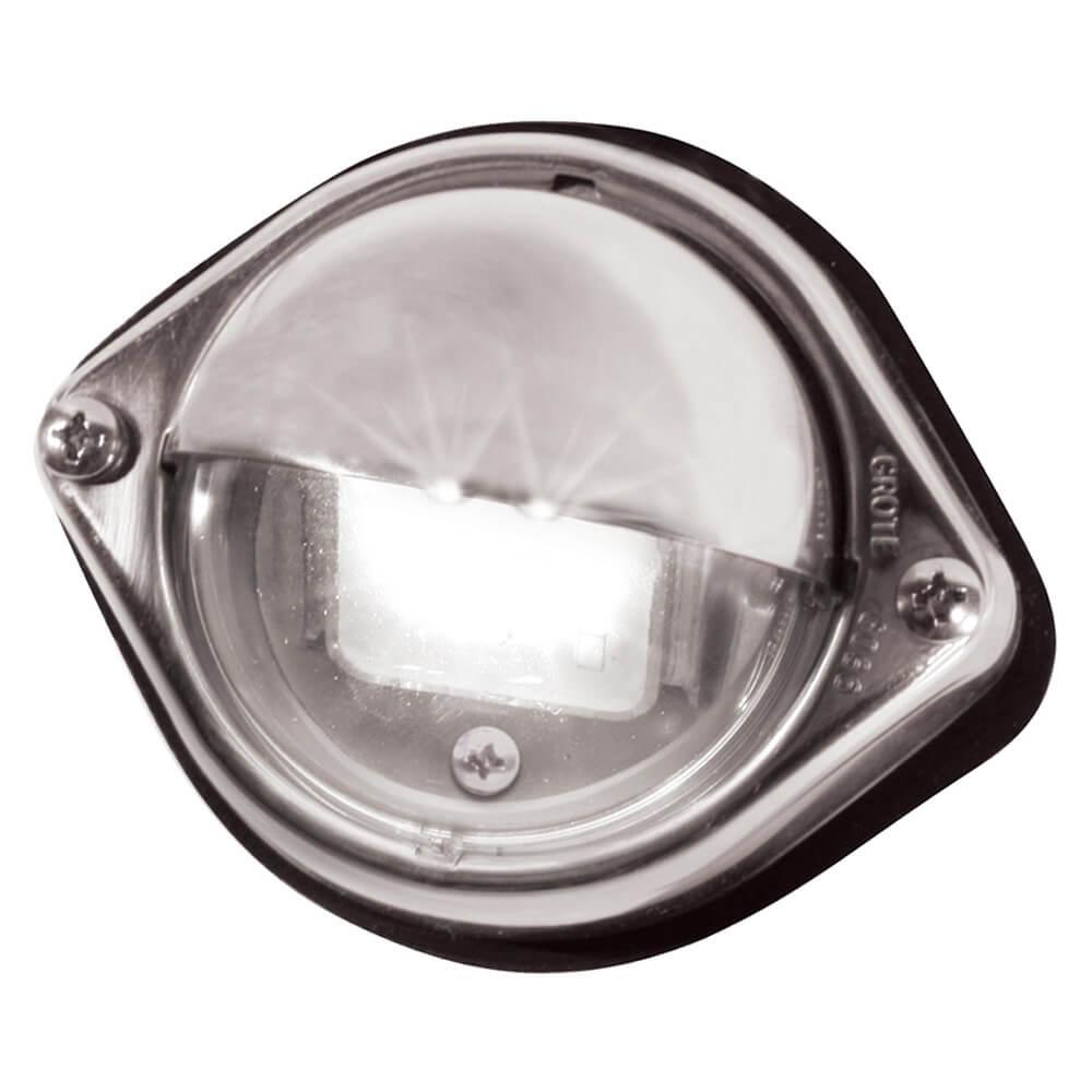 LED-Fußraumleuchte für Nutzfahrzeuge, transparent