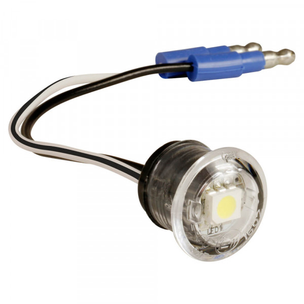 Clear Replacement LED License Light.