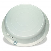 round dome light with switch white base