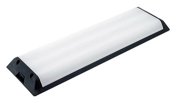 plafonnier fluorescent monté en surface, blanc
