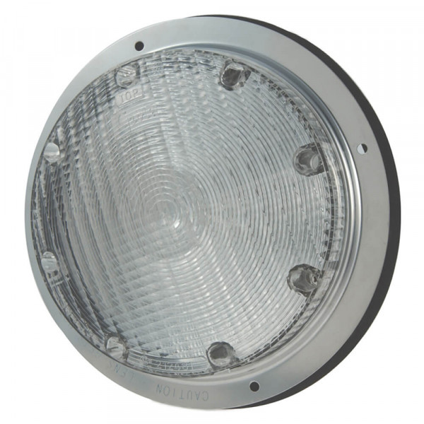 """8"""" surface mount dome light clear"""