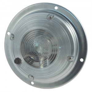 "6"" surface mount dome light switch clear"