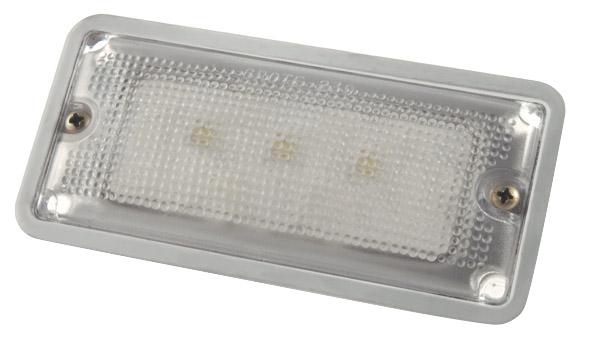 LED Whitelight Courtesy Flush Mount Interior Light.