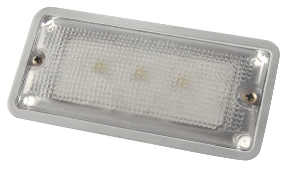 LED Whitelight Courtesy Flush Mount Interior Light.