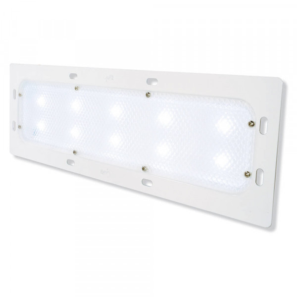 led whitelight recesses mount 18 dome light low output 10 diodes white