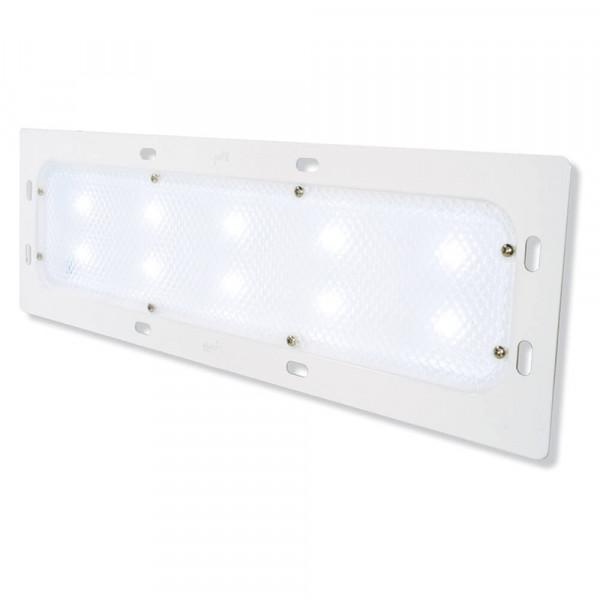 luz led whitelight para iluminación interior 18con montaje empotrado, potencia baja,10 diodos, blanco