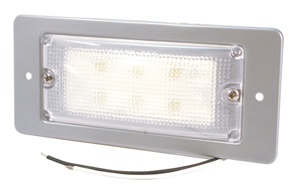 LED Whitelight Recessed-Mount Interior Dome Light.
