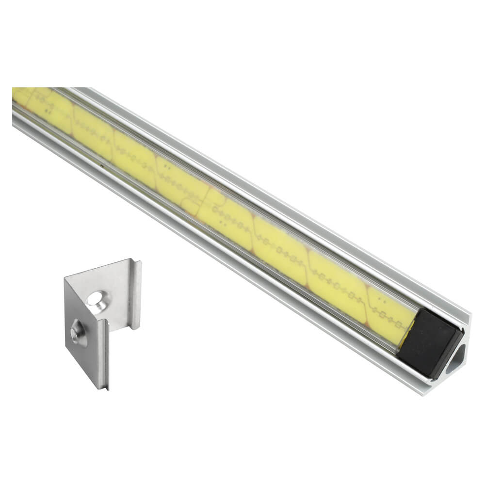 61R20 - XTL LED light strip in mounting extrusion