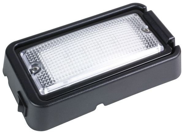 LED Whitelight Surface Mount Interior Dome Light With Switch.