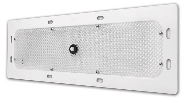 luz led whitelight para iluminación interior 18con montaje empotrado, con sensor de movimiento,6 diodos, blanco