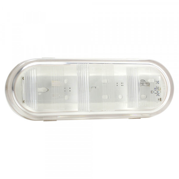 oval dual system led backup light