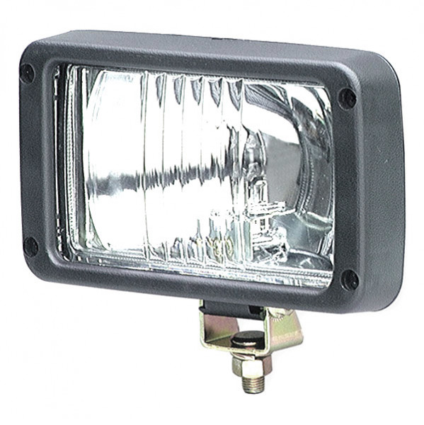Halogen Rectangular Flood Work Light