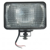 24 Volt Large Flood Rectangular Halogen Work Light thumbnail