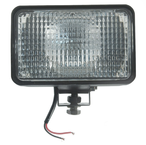 24 Volt Large Flood Rectangular Halogen Work Light