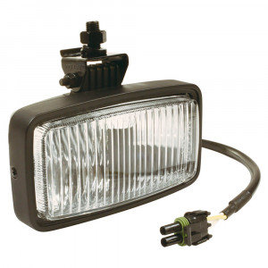Black Halogen Fog Light