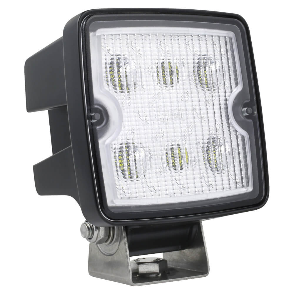 Close range LED work lamp