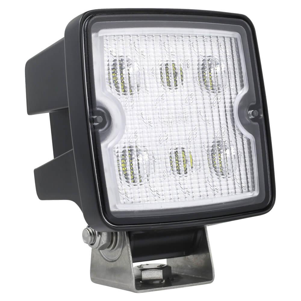 Close range LED work lamp