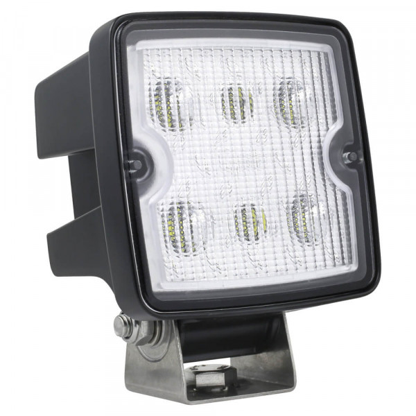 Close range LED work light