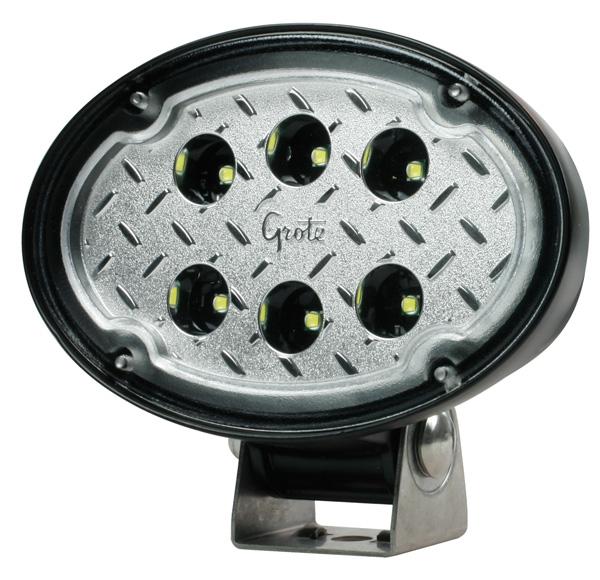 Luz de trabajo LED Trilliant ovalada