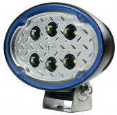 63j11 - Oval LED Work Light - 3000 Lumens - Wide Flood Miniaturbild