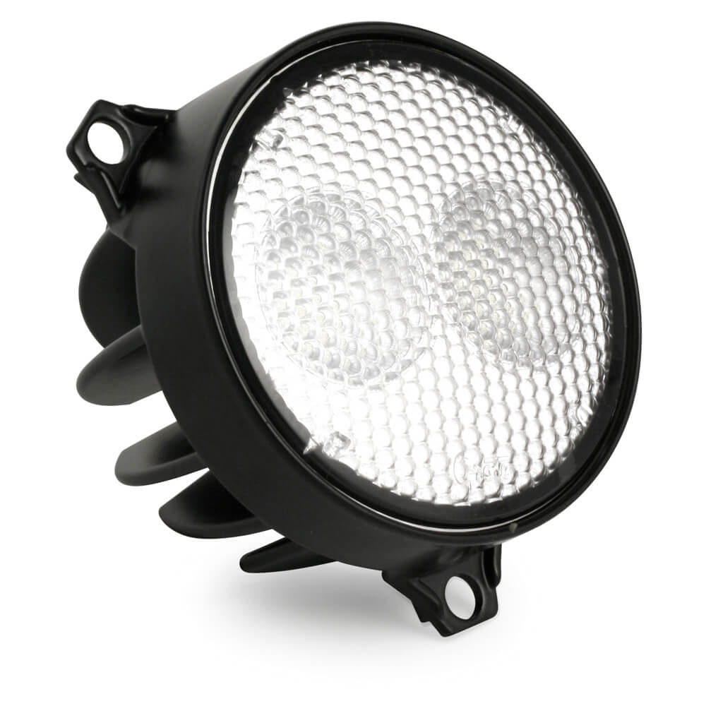 LED Light with near flood light pattern