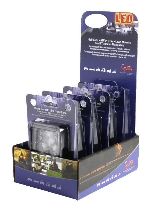 Großpackung Grote Select™ LED-Flutlichtanzeige für den Einzelhandel