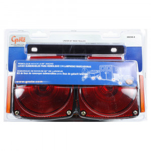 submersible trailer lighting kit clearance marker red yellow kit