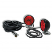 heavy duty magnetic towing kit red thumbnail