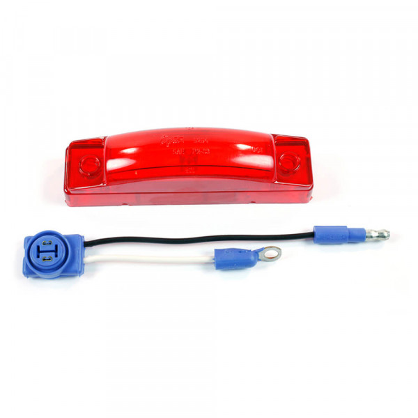 supernova thin line led clearance marker light kit red