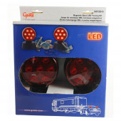 magnetic led towing kit red thumbnail