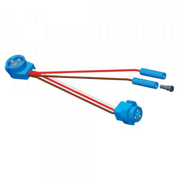 Adaptateur connecteur, Adaptateur, Connecteur mâle à mâle, (2) Prises .180 standard supplémentaires