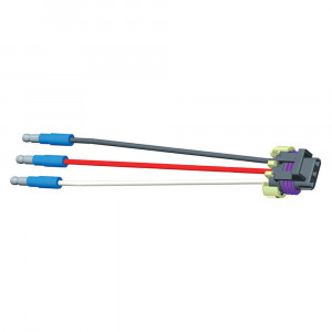 "Packard® Connector Pigtail, 6"" Long, Slim-Line .180 Males"