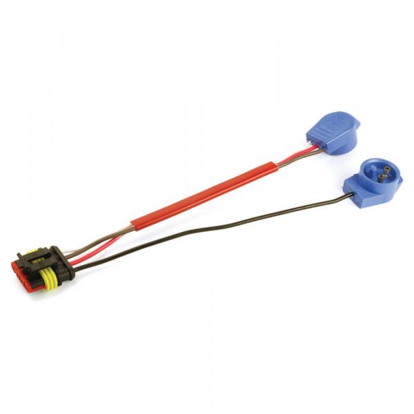 Conector flexible de cubierta dura, clavija macho, Conector 4 en 1