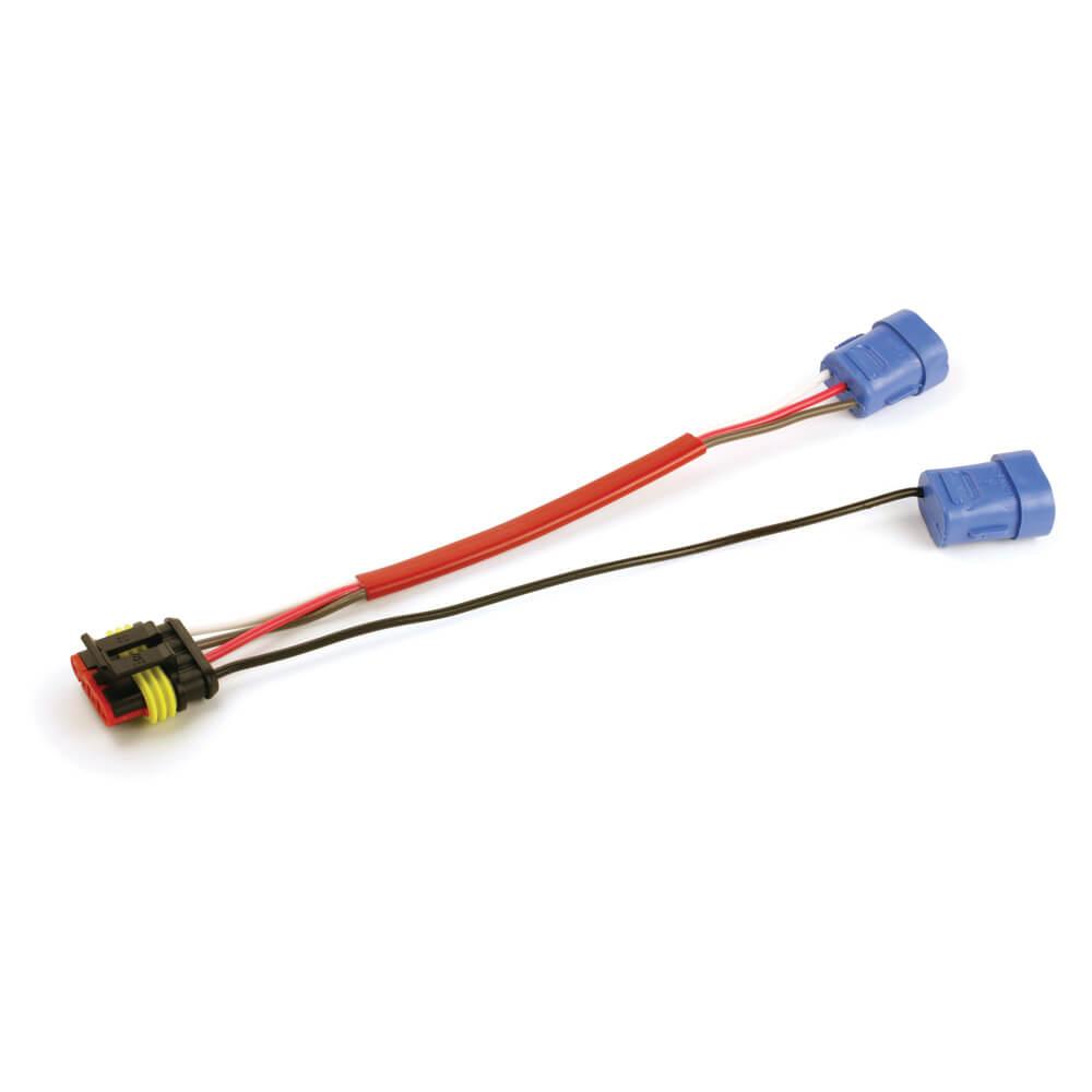 Conector flexible de cubierta dura, clavija hembra, Conector 4 en 1
