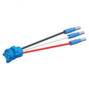 66870 - Anschlussdraht für hoch montiertes Bremslicht, Länge: 12 1/2″, 0,180-Flachstecker