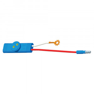 "Sentry High-Mount Stop Pigtail, 6"" Long, Slim-Line .180 Male, 3"" Ground, Star Ring Terminal"