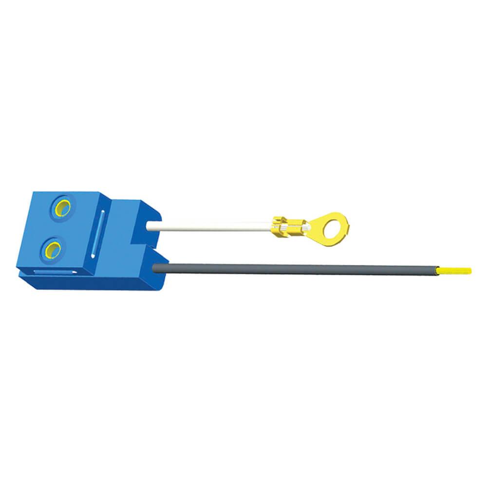 Connecteur pour feu de gabarit/encombrement, Longueur 6 po, Remplacement universel, Coupe droite, Œillet de cosse