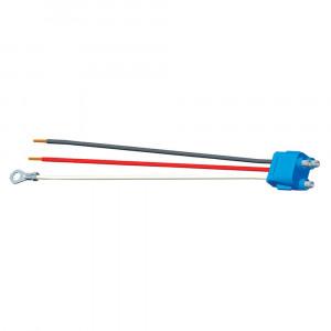 """Luz de frenado/trasera/direccional con tres cables, conector flexible para luces con clavija hembra, 11 1/2"""" de largo, Masa del chasis, cables despuntados"""