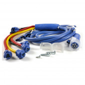"""UBS® Harness Rear Sill Option, 56"""" Long, Ground Return, Blue Drop, Male-Pin"""