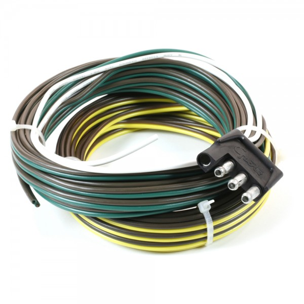 Jumper Harness - 4 Pole plug To Blunt Cut