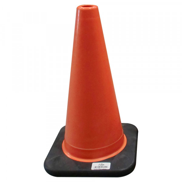 Small orange traffic cone
